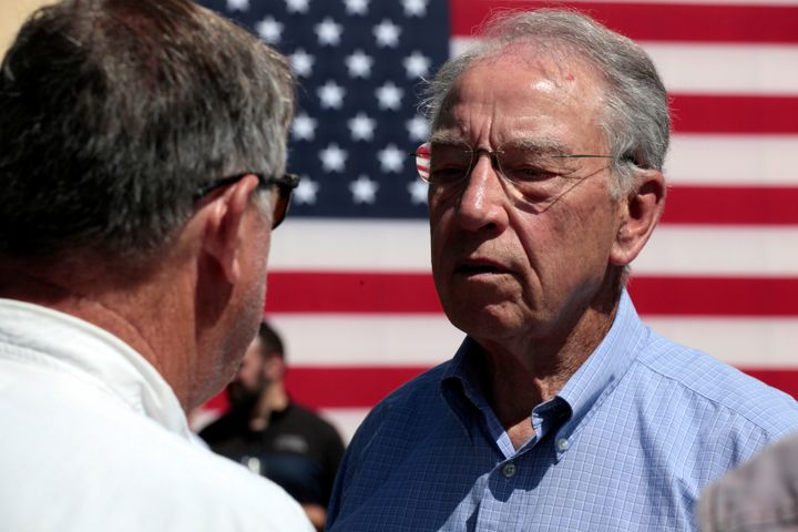 Sen. Chuck Grassley (R-Iowa), chairman of the Judiciary Committee, will play a big role in advancing President Donald Trump's