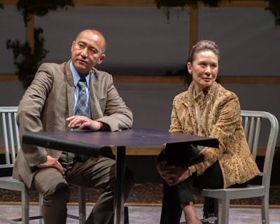 Don Castro (Dan) and Charisse Loriaux (Samantha) in a scene from <strong><em>You Mean To Do Me Harm</em></strong>