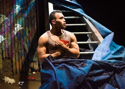 Ed Berkeley in a scene from <strong><em>warplay</em></strong>