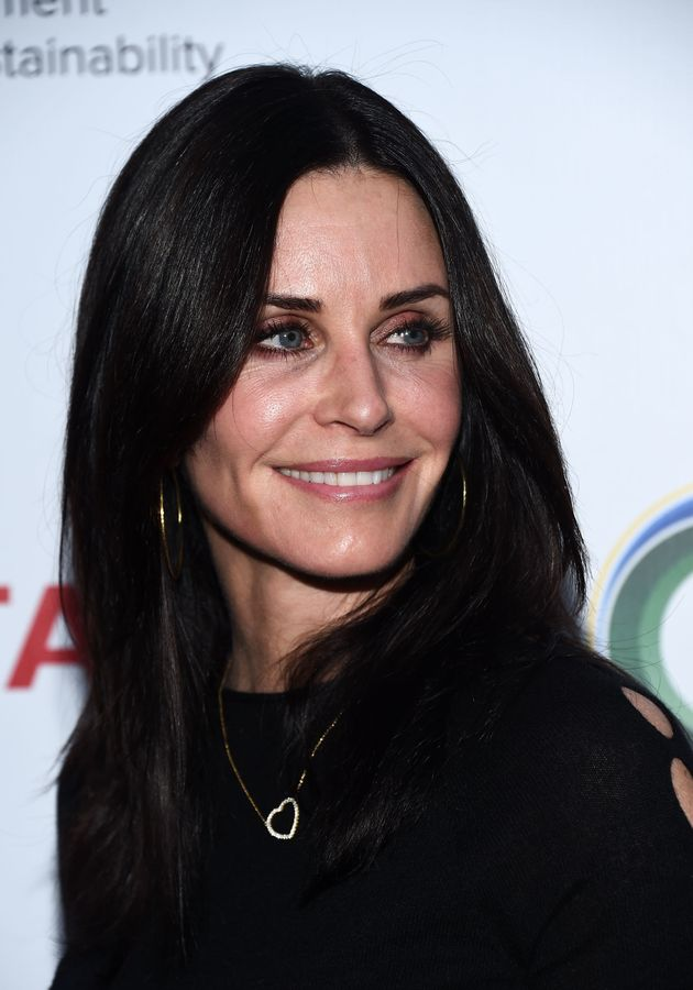 Courteney Cox, seen here in March, no longer uses facial