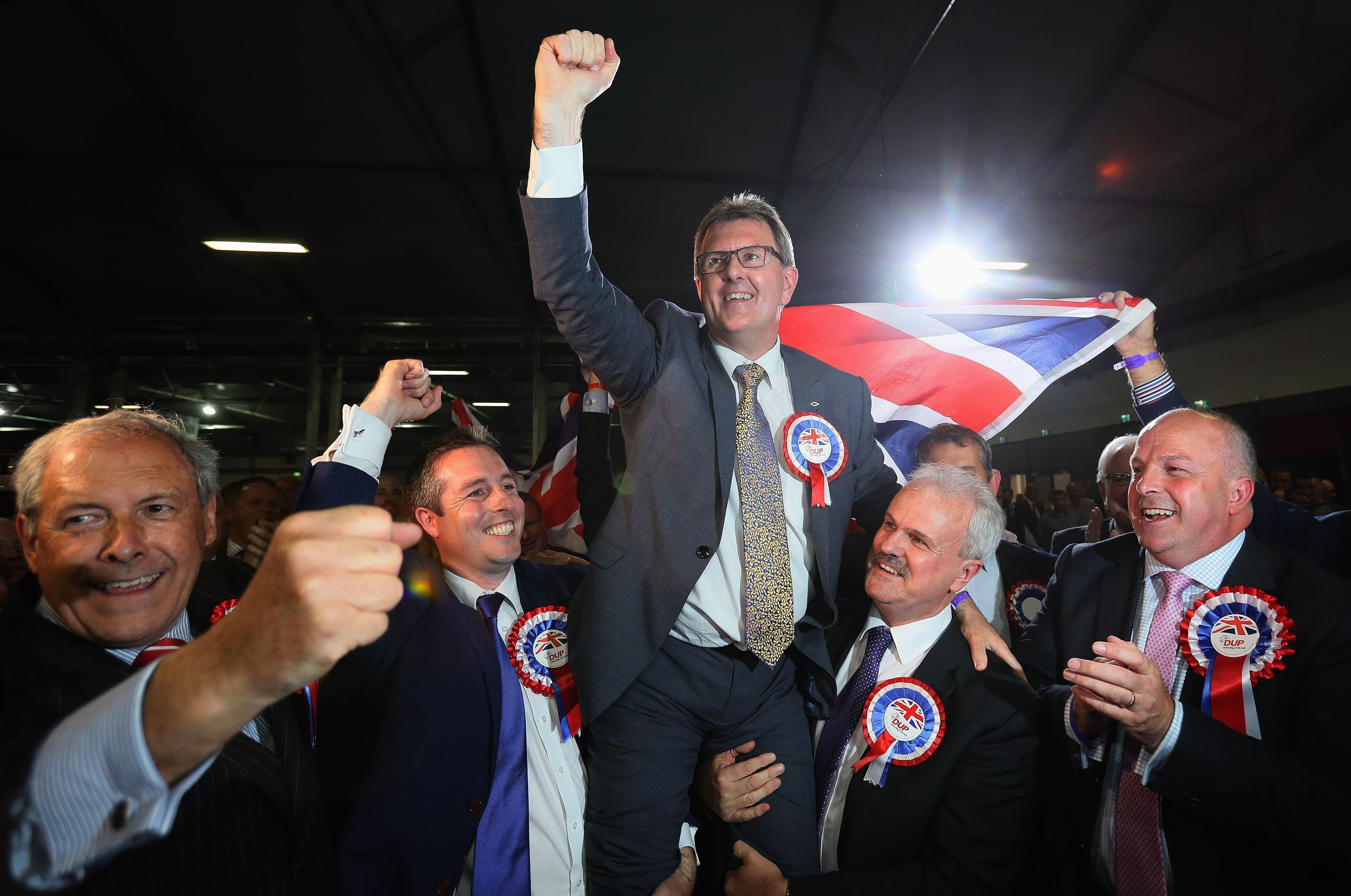 Sir Jeffrey Donaldson is the DUP's chief whip at