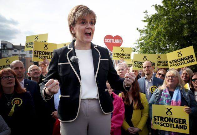 Nicola Sturgeon will be one of the politicians watching the Tories deal with the DUP