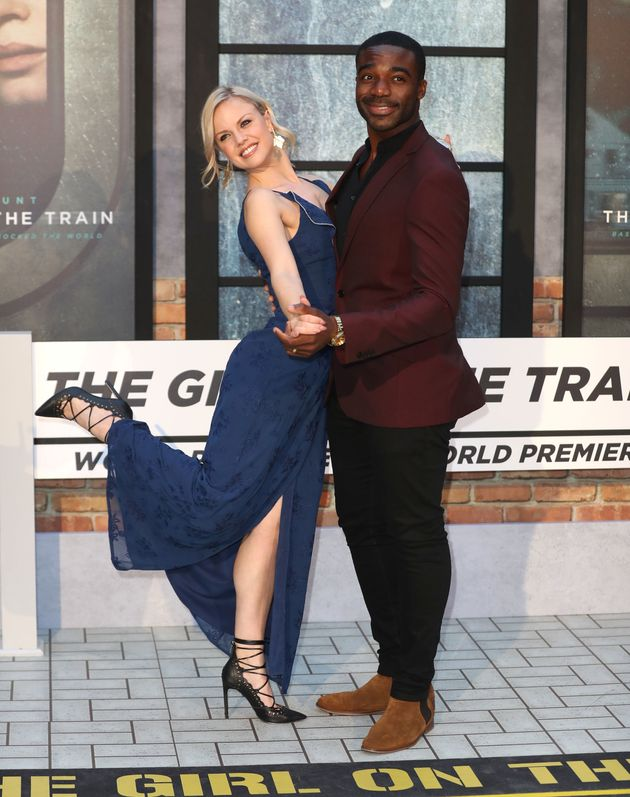 Joanne Clifton and Ore