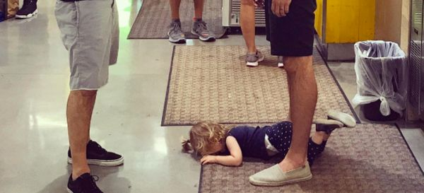 Dad Explains Why We Shouldn't Be Embarrassed By Our Toddlers' Tantrums