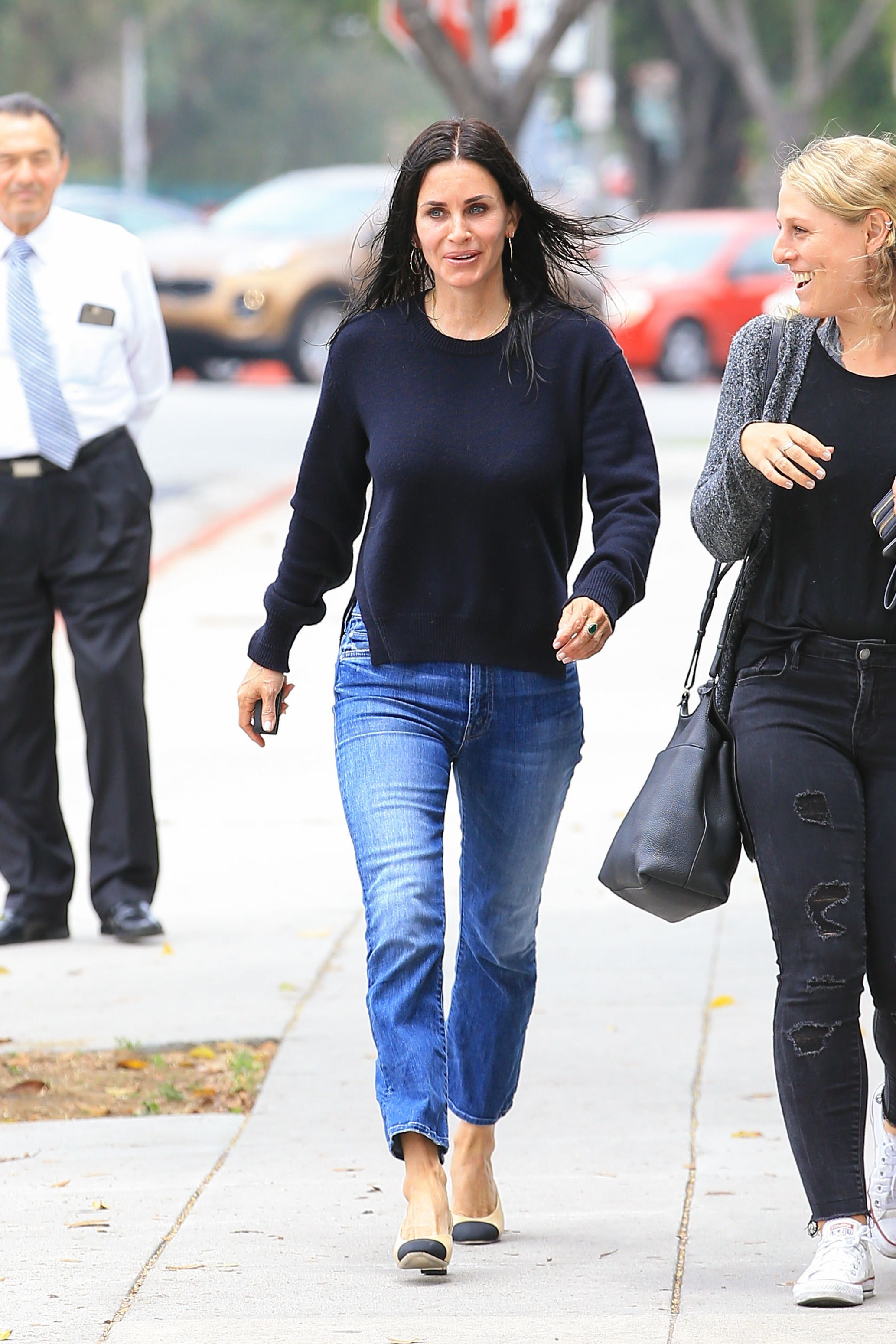 Courteney Cox Stopped Getting Fillers, Says She Wants To Age More