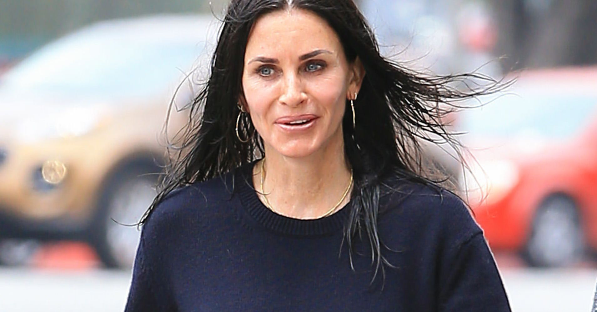 Courteney Cox Stopped Getting Fillers Says She Wants To