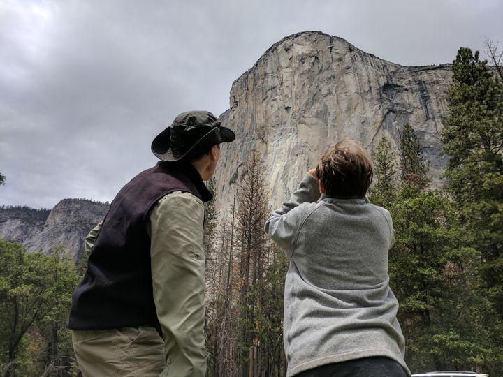Two Americans conquer sheer wall of Yosemites El Capitan