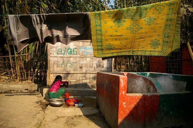 Rohingya women and children were targeted by military forces in October 2016, and the four months afterward, and have fled to