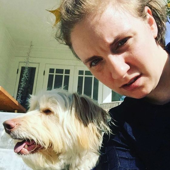Lena Dunham Opens Up About Difficult Decision To Rehome Her Rescue Dog