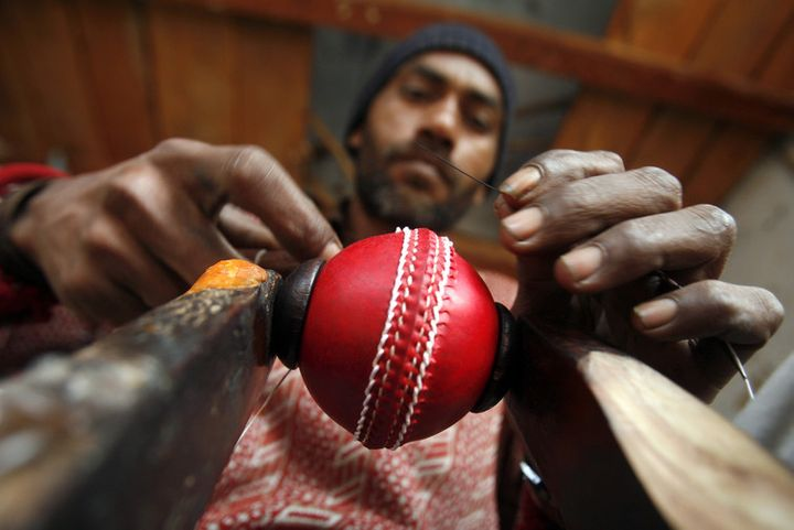Even cricket balls are made of leather.