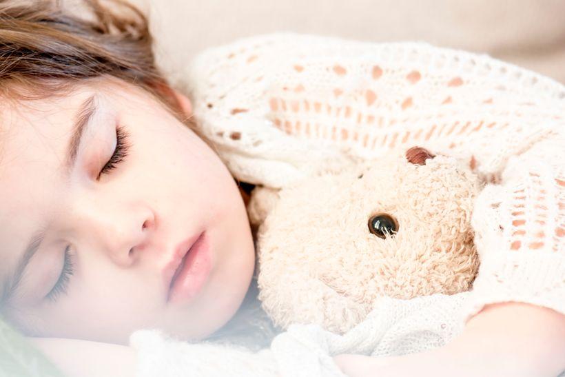 Adding a little mindfulness at bedtime can help children drift off into a peaceful sleep!