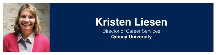 Kristen Liesen   Director of Career Services, Quincy University