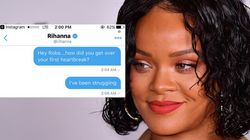 A Fan Direct Messaged Rihanna For Breakup Advice And Her Reply Is