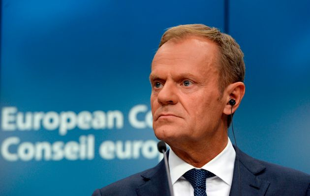 Theresa May Trolled Over Brexit By EU President Donald Tusk With John Lennon