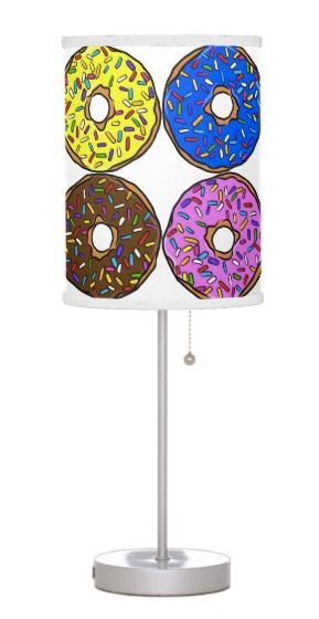Buy Food Gallery's 'Donuts with sprinkles' table lamp