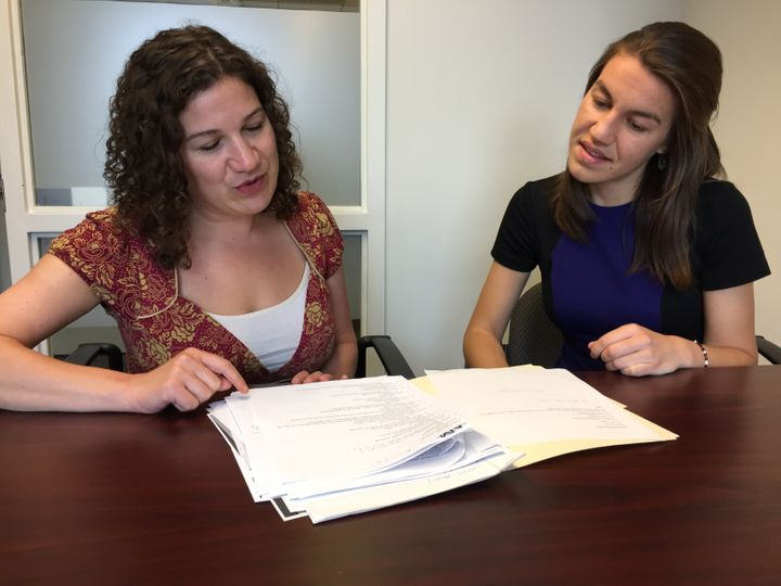 Katherine Bromberg and Mariah Vitali work on the case of Danielle Feola, a transgender woman who faced discrimination at her