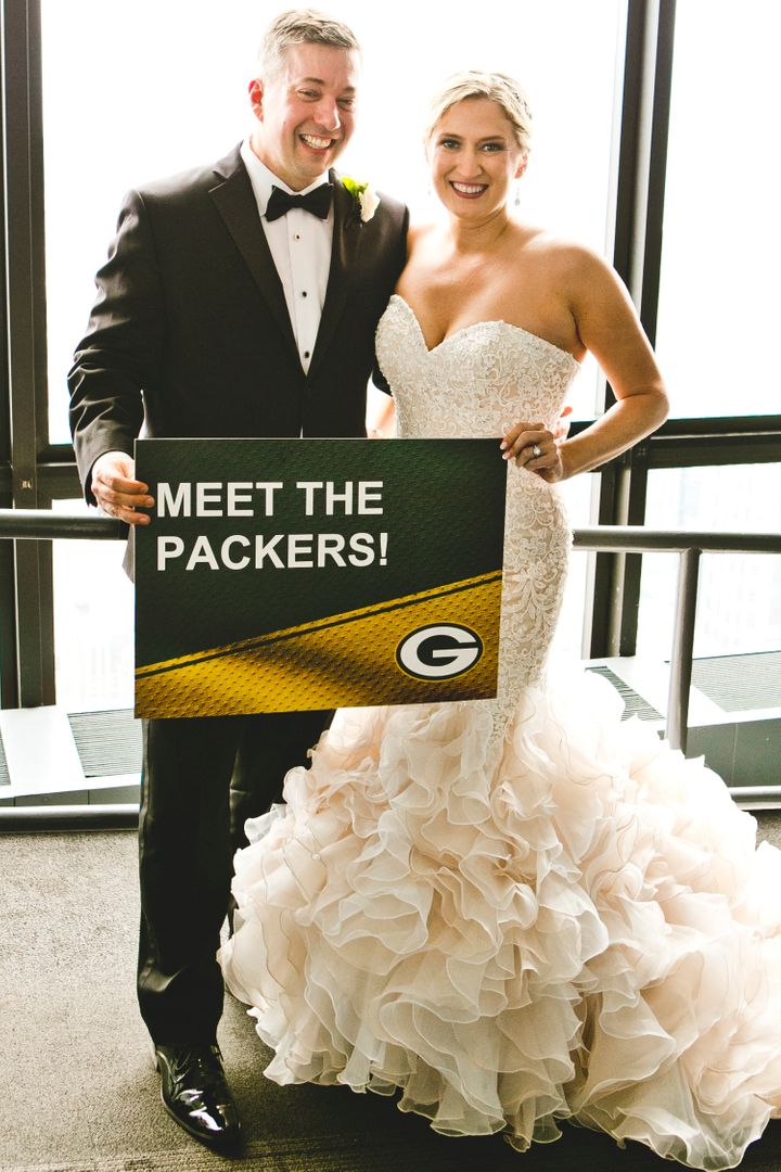 Mr and Mrs. Packer!