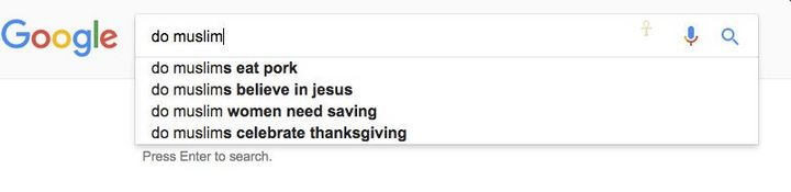 More autofill results from Google.