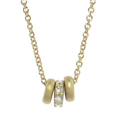 "Buy Tate's <a href=""https://www.ylang23.com/product/tiny+donut+triplet+necklace+with+diamonds.do?gclid=CIOU7O-_1NQC"