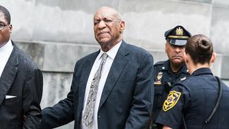 NORRISTOWN, PA - JUNE 17:  Actor Bill Cosby is seen leaving Montgomery County Courthouse after the sexual assault case was declared a mistrial for manifest necessity on June 17, 2017 in Norristown, Pennsylvania.  (Photo by Gilbert Carrasquillo/WireImage)