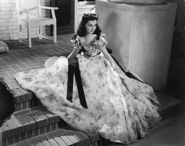 Vivien Leigh's unforgettable wardrobe was designed by famed costumer designer Walter Plunkett. He has been cited as one of <a