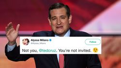 Ted Cruz Just Got Owned By Alyssa