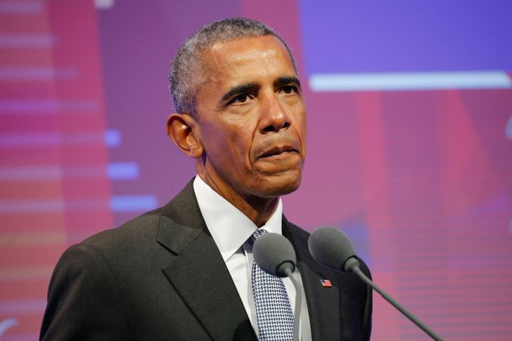 Former President Barack Obama posted a takedown of Senate Republicans' health care bill on Thursday.