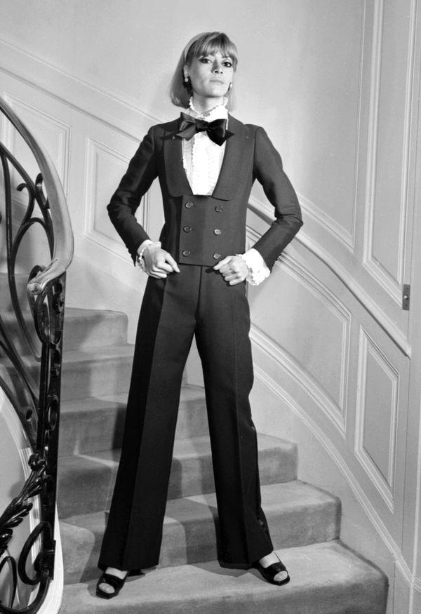 "Yves Saint Laurent <a href=""http://www.businessinsider.com/ysls-greatest-fashion-hits-2011-8"" target=""_blank"">revolutionized"