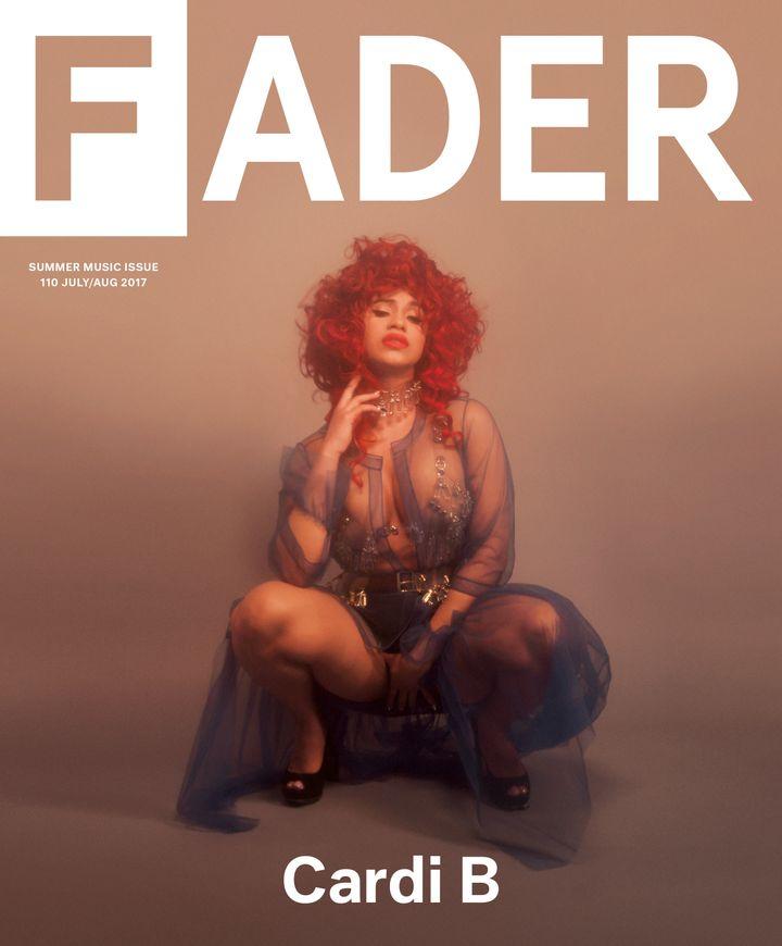 """The FADER/Samantha Casolari. """""""