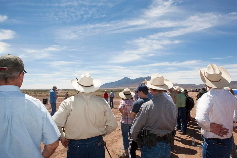 Cochise County Supervisor Pat Call describes the enormous runoff from Mexico's giant San Jose Mountain each year.