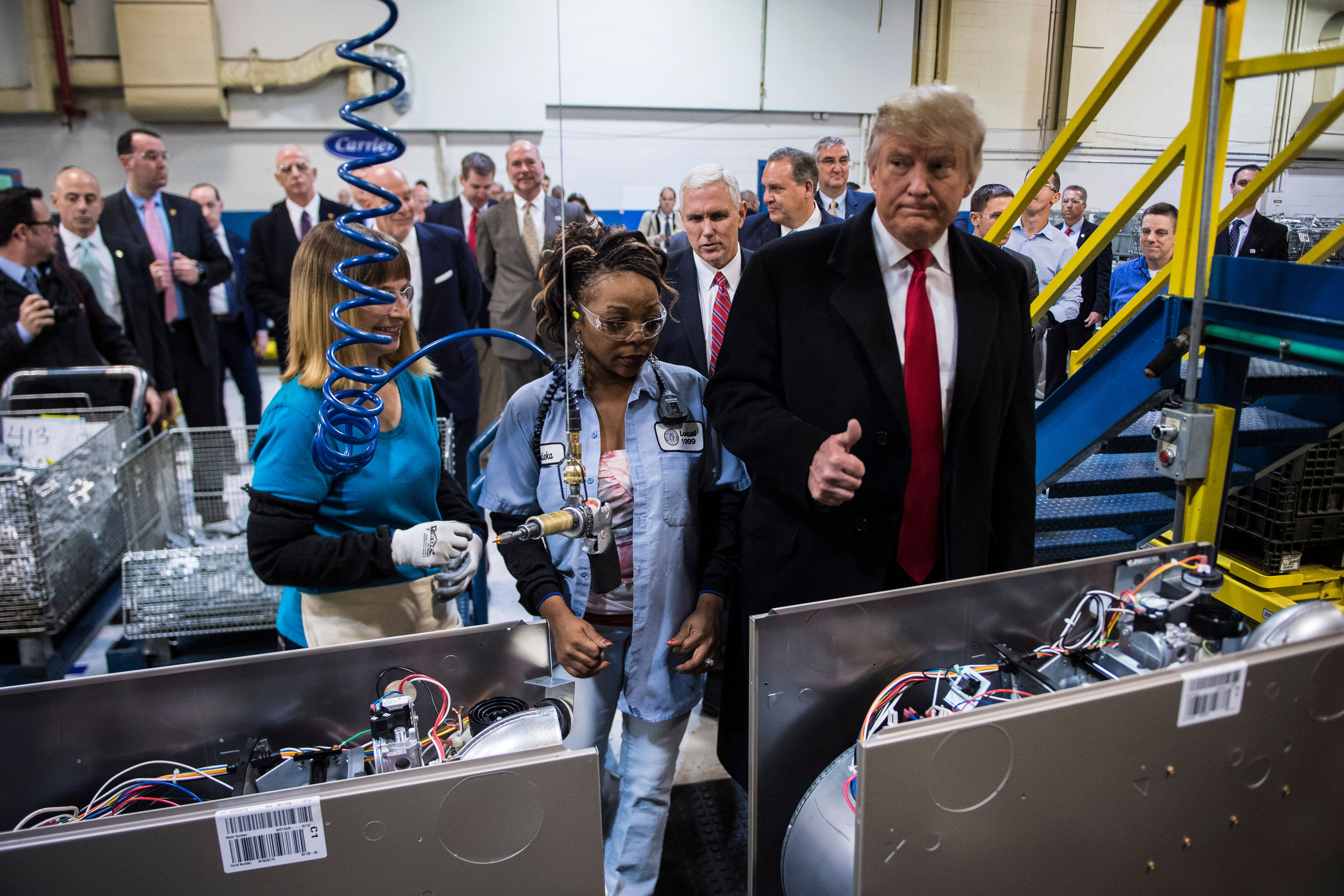 Layoffs Near At Carrier Factory 'Saved' By Trump