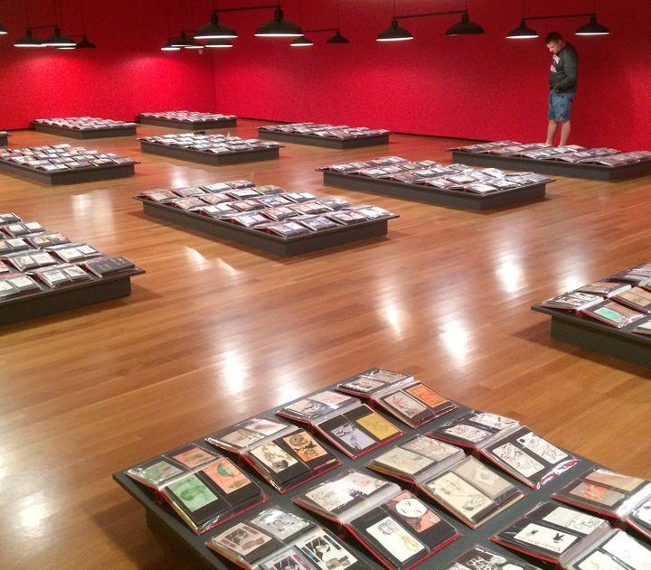 <p>30,000 Postcards</p>