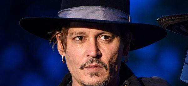 Johnny Depp Jokes About Assassinating Donald Trump During Glastonbury Event