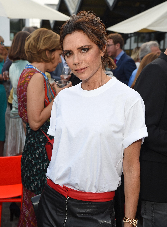 Victoria Beckham Leads The Celebrations At Vogue Editor Alexandra Shulman's Leaving