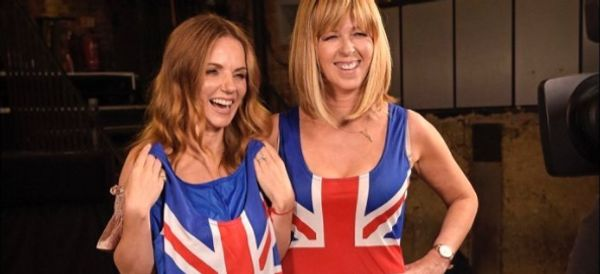 Kate Garraway Channels Ginger Spice In Geri Horner's Iconic Union Jack Dress