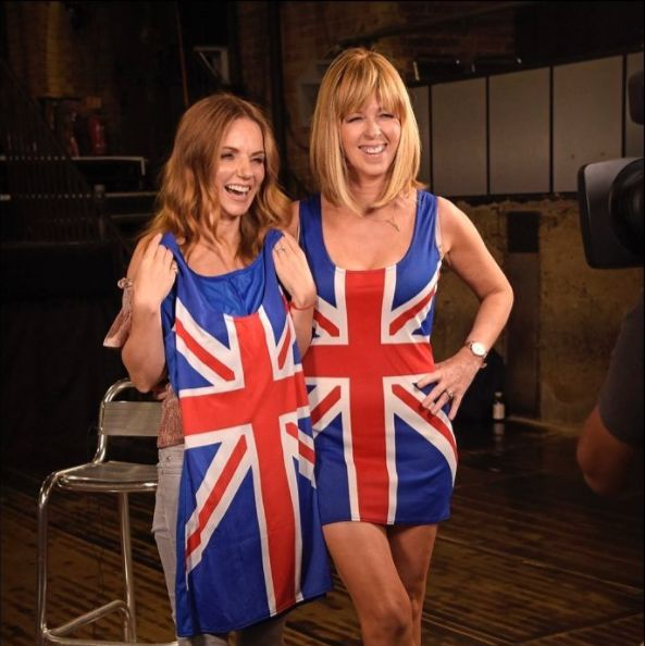 Kate Garraway Channels Ginger Spice In Geri Horner's Iconic Union Jack
