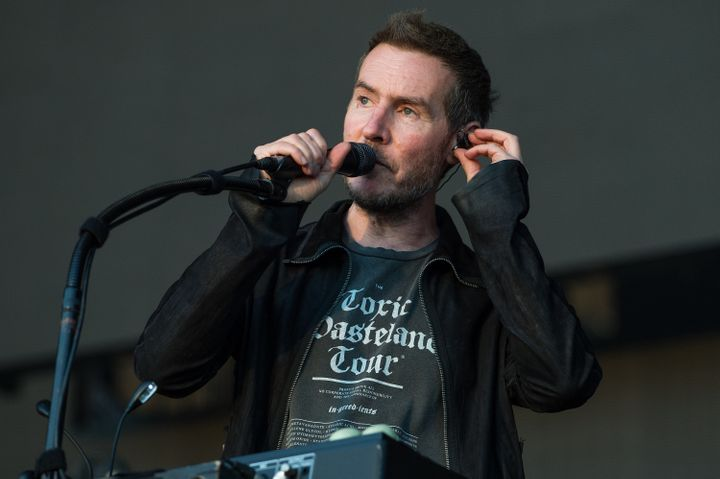 Robert Del Naja of Massive Attack