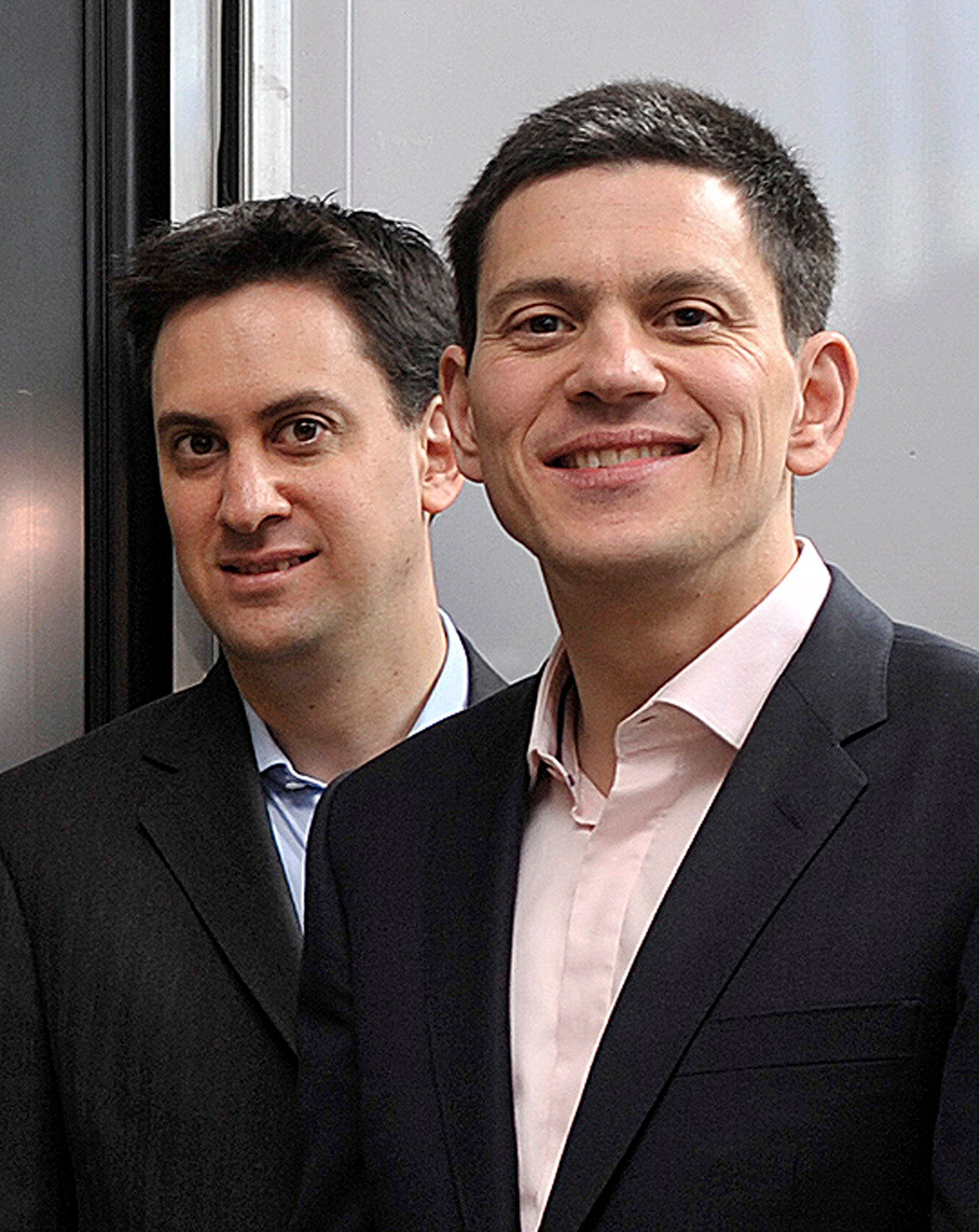 The Miliband Brothers Speak Publicly For First Time In Seven Years In Awkward