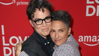 LOS ANGELES, CA - APRIL 20:  Executive producers Sarah Gubbins (L) and Jill Soloway attend the premiere of Amazon's 'I Love Dick' at the Linwood Dunn Theater on April 20, 2017 in Los Angeles, California.  (Photo by David Livingston/Getty Images)