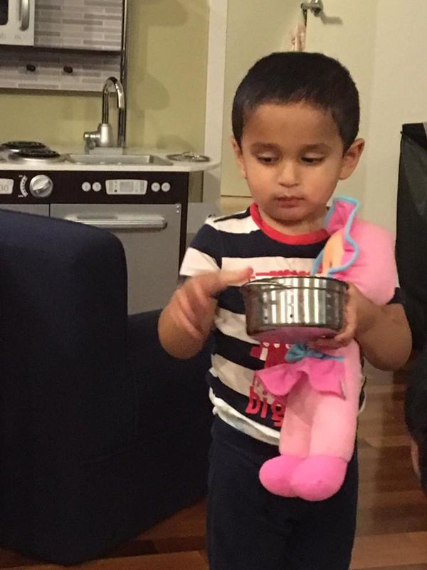 """""""Cooking and taking care of the baby at the same time."""""""