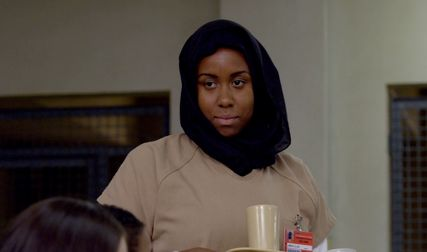 "Amanda Stephen plays Alison Abdullah in Netflix's ""Orange Is the New Black."""