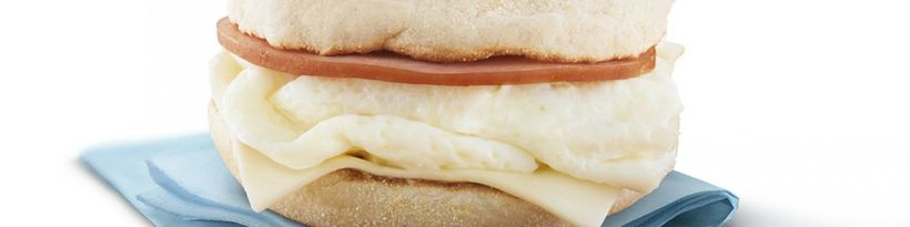 <strong>The Egg White Delight contains just 260 calories.</strong>