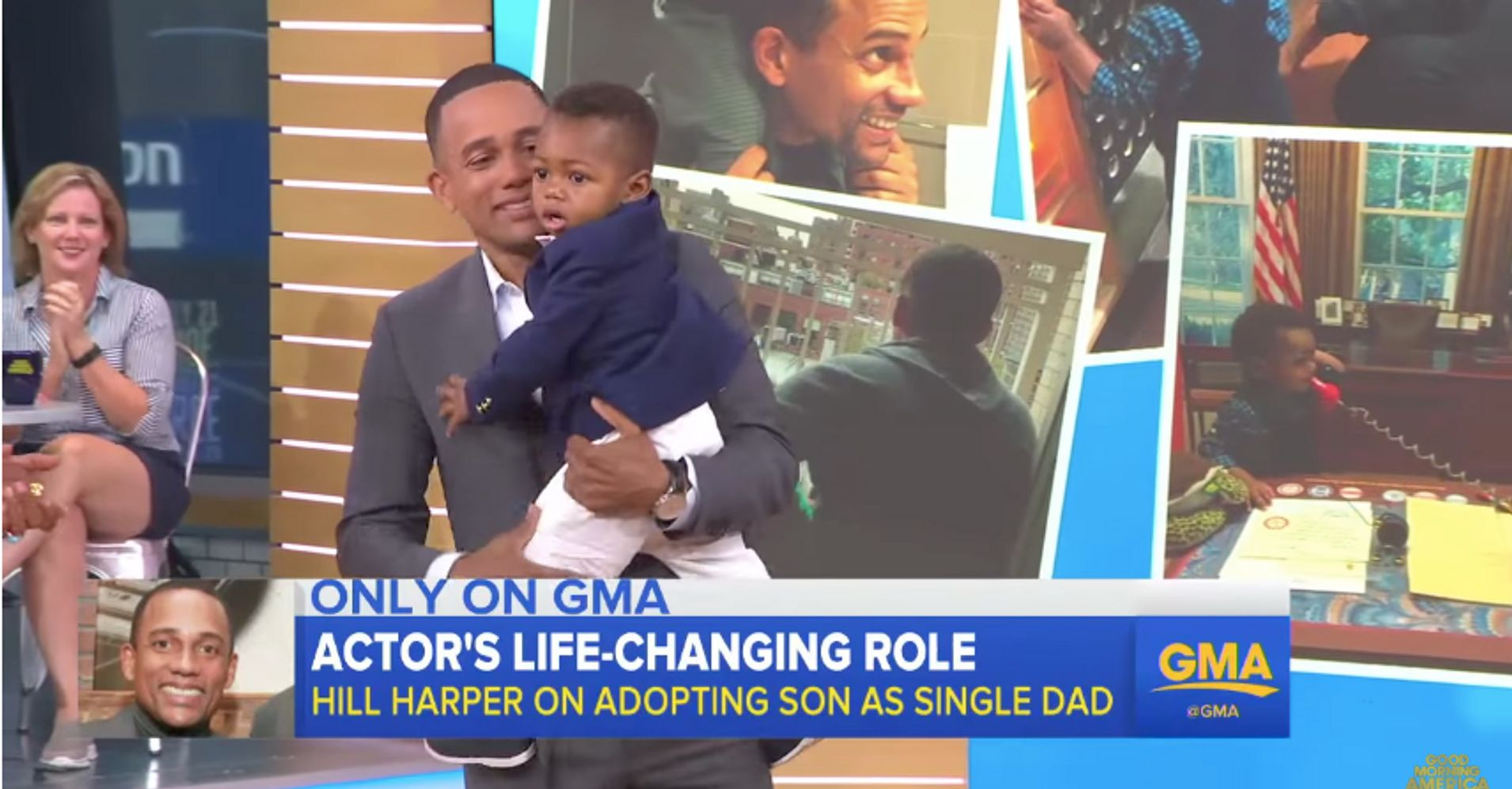 'csi: Ny' Actor Opens Up About Becoming A Single Dad After Adopting A Son   Huffpost