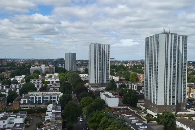 The Taplow, Bray and Dorney residential tower blocks are among the five to be evacuated on the Chalcots