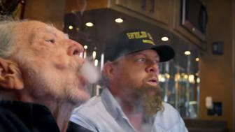Willie Nelson appears in Toby Keiths newest music video Wacky Tobaccy an ode to marijuana