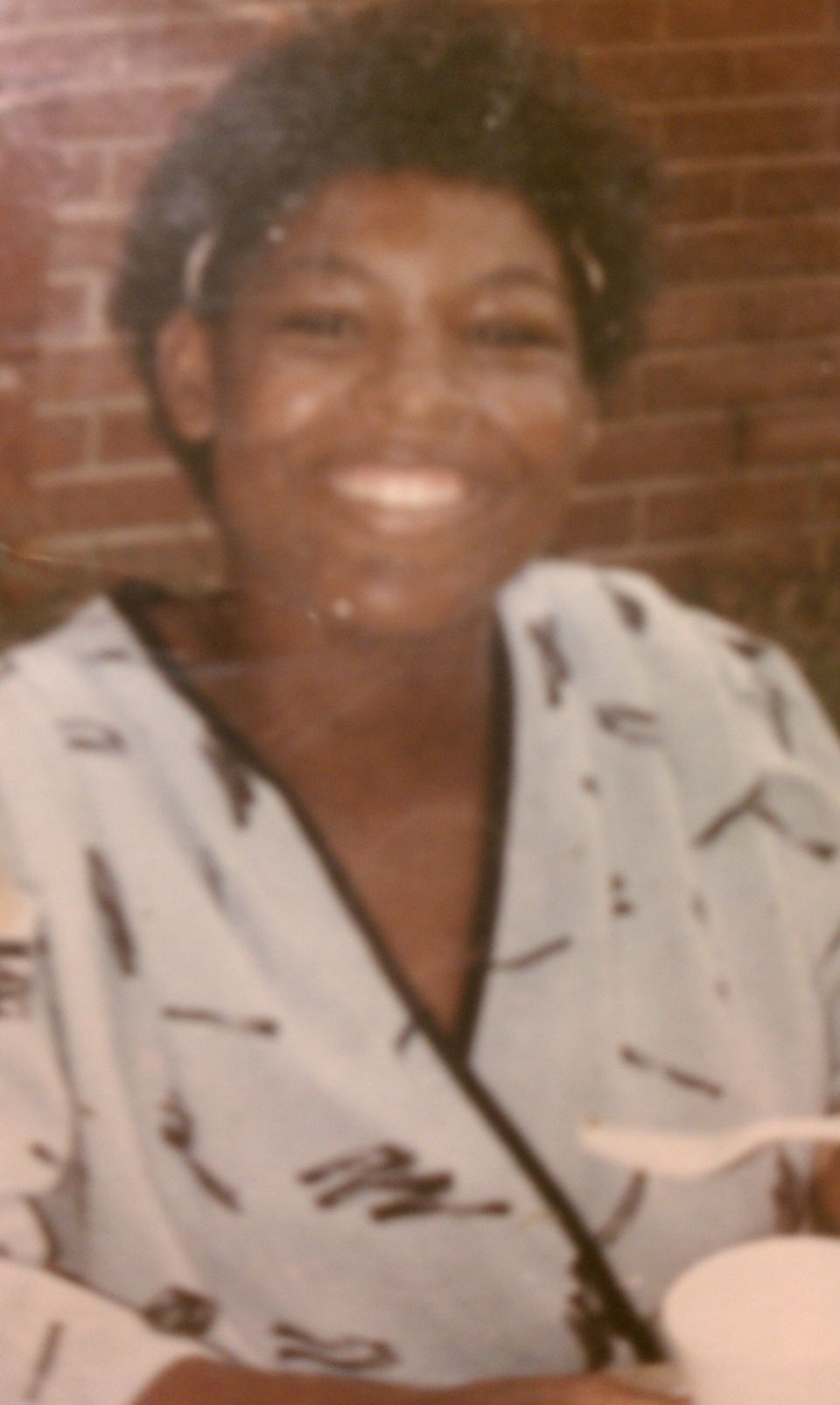 This photo was taken when Dannette Millbrook was 15 or 16 years of age.