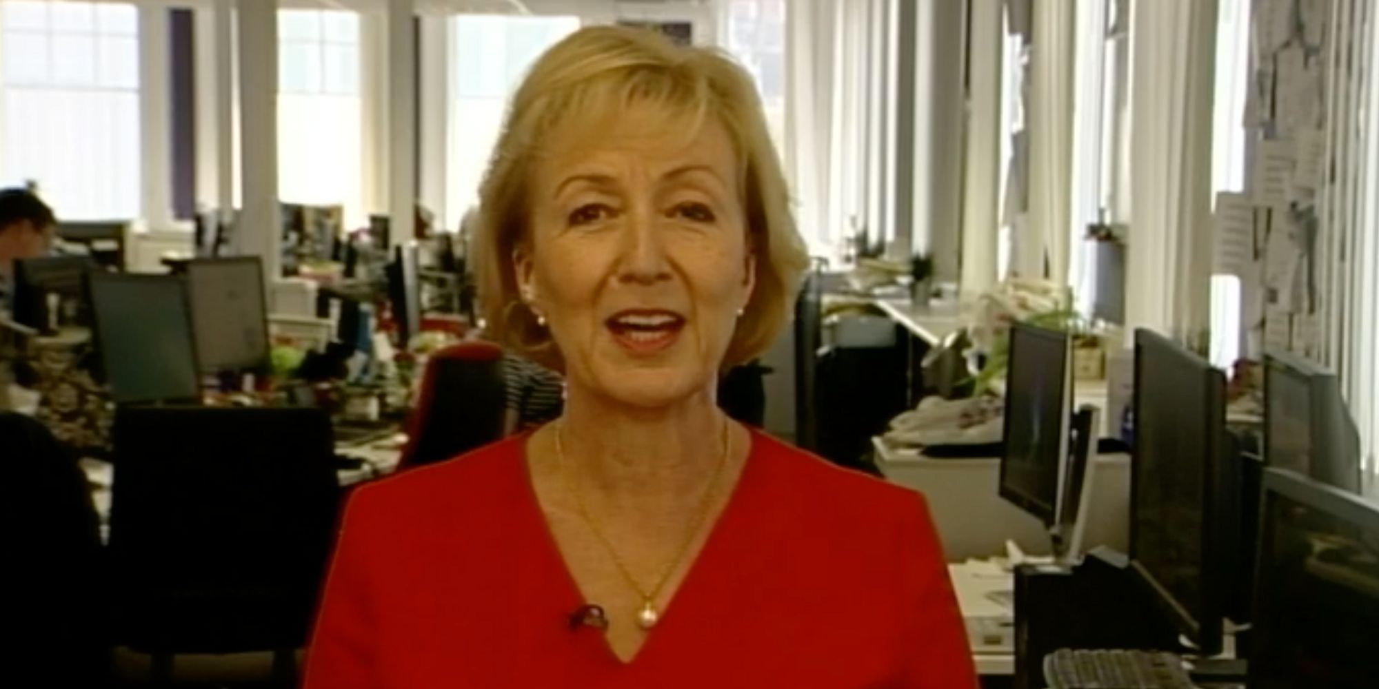 Image result for andrea leadsom bbc
