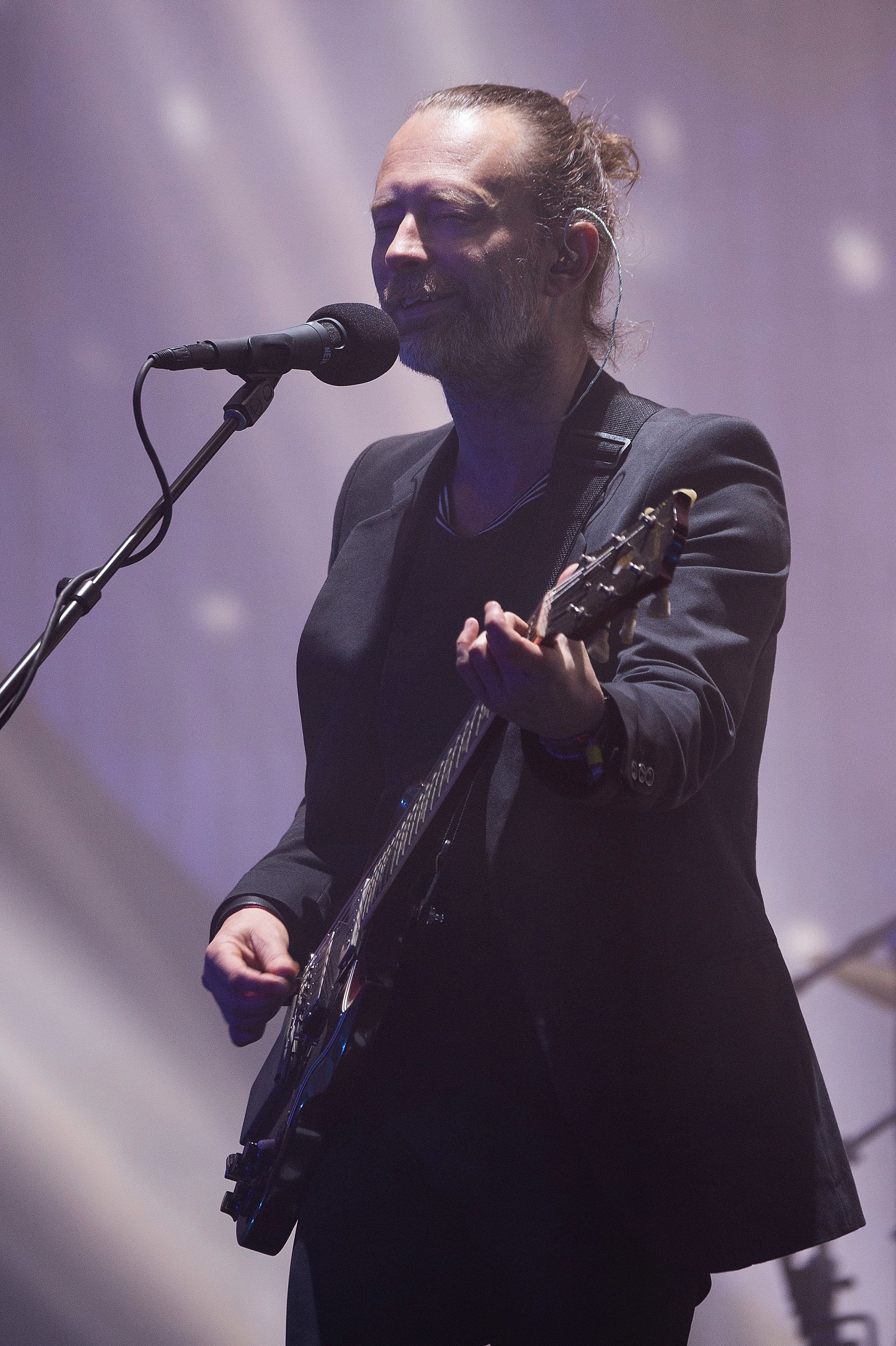 Radiohead's Thom Yorke Takes Aim At Theresa May During Glastonbury Headlining