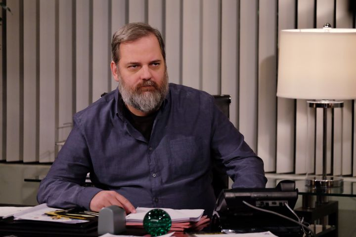 "Dan Harmon appearing on Season 2 of ""Dr. Ken."""