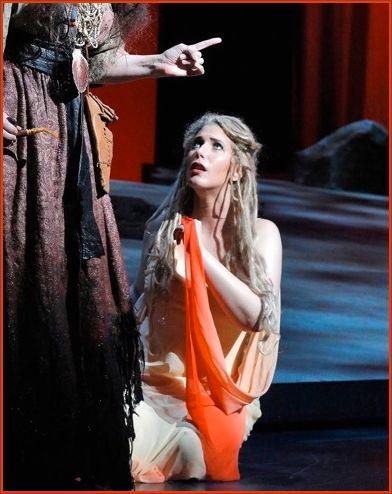 Ellie Dehn as Rusalka. Kansas City Opera, 2015